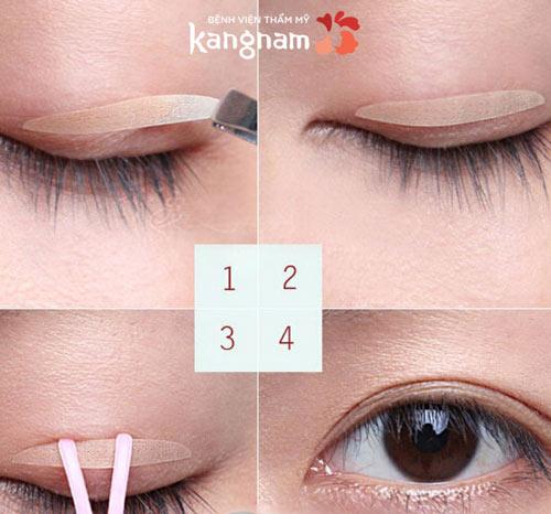 cách làm mắt hai mí 1