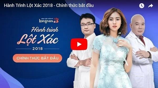 Video hành trình lột xác 2018 tại BVTM Kangnam