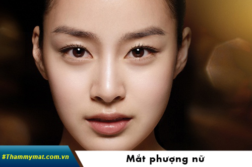 Đôi mắt phượng nữ diễn viên