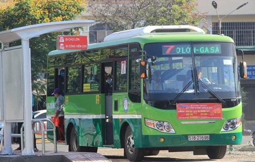 xe buýt đi bệnh viện nhi đồng 1