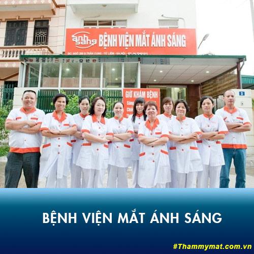 bệnh viện mắt ánh sáng Hà Nội ở đâu