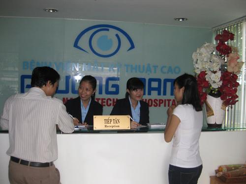bệnh viện mắt phương nam điện biên phủ
