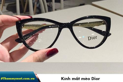 kính mắt mèo dior