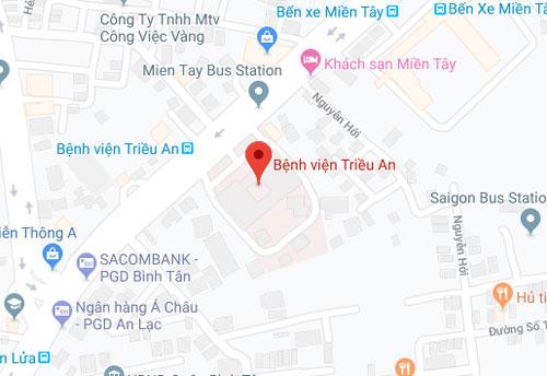 Bệnh viện Triều An quận 6 tphcm